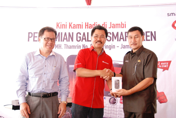 Photo of Tingkatkan Penetrasi Layanan Data, Smartfren hadir di Jambi
