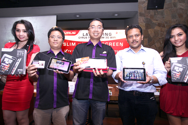 Photo of Cyrus TVPad dan GRATIS INTERNETAN DARI TELKOMSEL