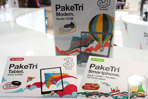 Photo of Paket Internet 3 untuk modem,tablet dan Smartphone.