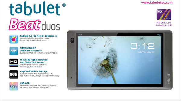 Photo of Tabulet Beat Duos Dengan Processor Dual Core Scorpio