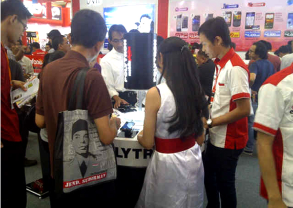 Photo of Polytron Mobile Phone hadir di IndoComtech 2012