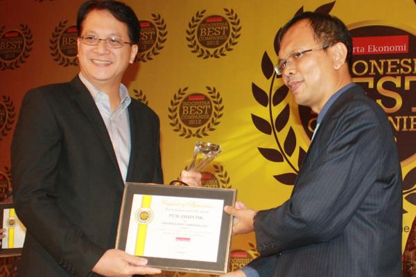 Photo of XL Raih Indonesia Best Companies 2012