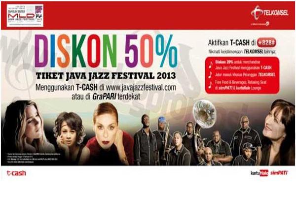 Photo of Potongan 50% beli Tiket JJF dari Telkomsel