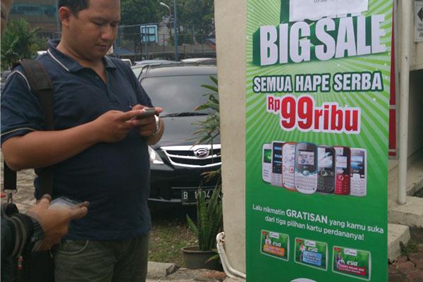 Photo of Esia Cuci Gudang Jual Henpon cuma Rp 99 Ribu