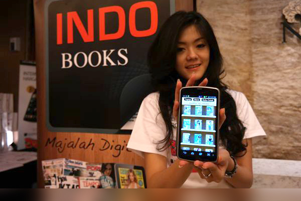 Photo of Majalah Digital di indobooks bisa dibeli pakai pulsa Telkomsel
