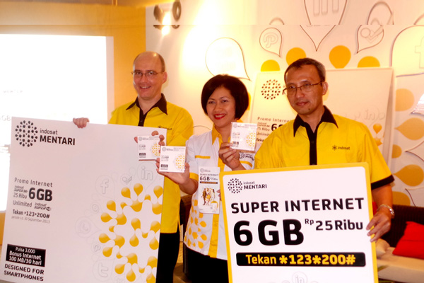 Photo of INDOSAT MENTARI SUPER INTERNET Internet Kuota 6 GB hanya Rp 25 Ribu