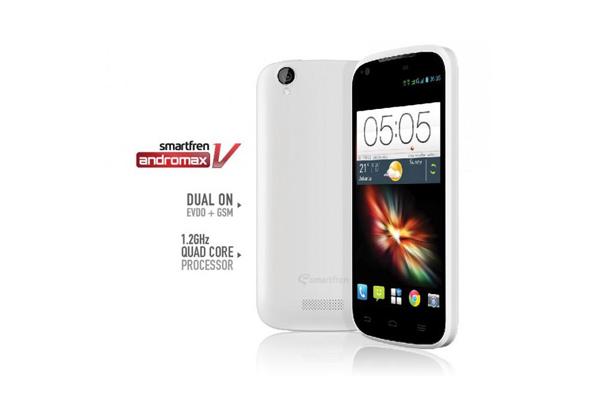 Photo of Smartfren Bagikan 100 Smartphone Andromax V Gratis
