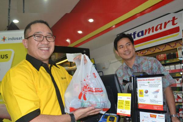 Photo of Belanja di Alfamart  pake layanan Dompetku