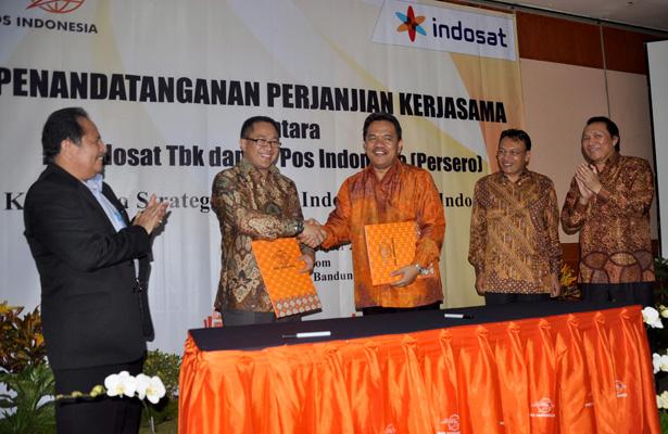 Photo of PEMANFAATAN INFRASTRUKTUR & LAYANAN BERSAMA  INDOSAT GANDENG POS INDONESIA