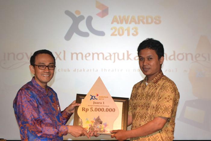 Photo of Lebih dari Rp.192 juta untuk  pemenang  XL Awards 2013