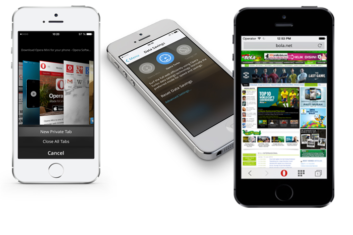 Photo of Tiga pilihan mode bagi Opera Mini 8 untuk pengguna iOS
