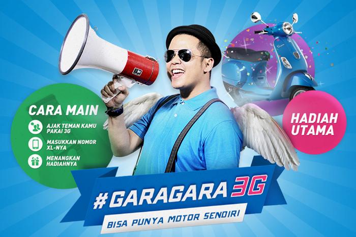 Photo of Gara-Gara 3G bisa dapet MOTOR GRATIS dari XL