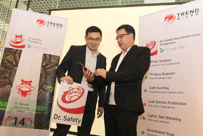 Photo of Smartphone Advan dilindungi oleh Trend Micro