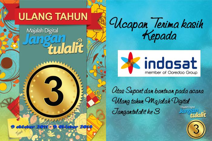 Photo of Terima kasih untuk Indosat