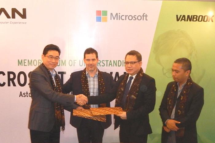 Photo of Kerjasama Advan-Microsoft Era baru Tablet PC Windows brand Lokal