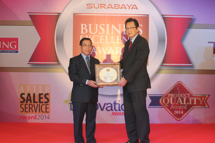 Photo of Datascrip Service Center Raih After Sales Service Award 2014