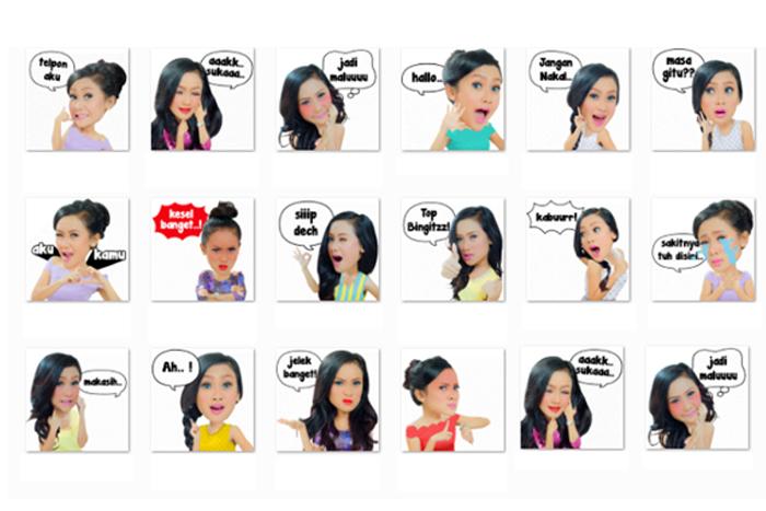 "Photo of Wow  Stiker Animasi Cita Citata  ""Sakitnya Tuh Disini"" Hadir di WeChat"
