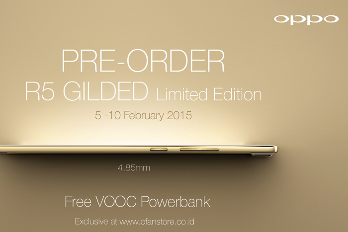 Photo of OPPO preorder R5 Gilded Edition Pekan Ini