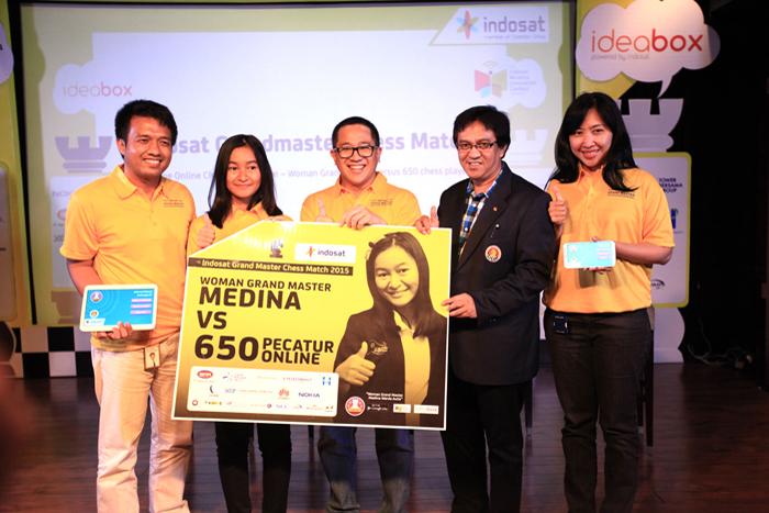 Photo of INDOSAT Gelar Kompetisi Catur Online Secara Simultan Terbesar di Indonesia dan Dunia