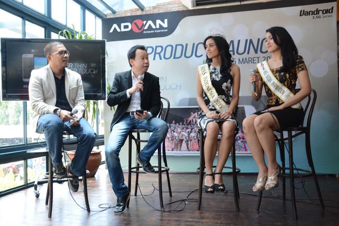 Photo of ADVAN menghadirkan Smartphone Tipis dengan menggandeng Miss Indonesia 2015