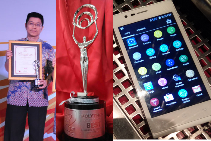 Photo of Polytron Zap5 menjadi Best Affordable 4G Smartphone di  Selular Award 2015