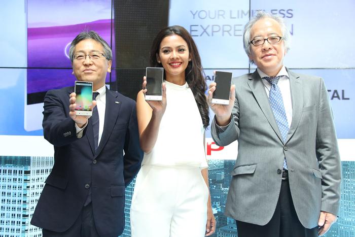 Photo of SHARP AQUOS Crystal Ramaikan Henpon Pintar di Pasar Indonesia