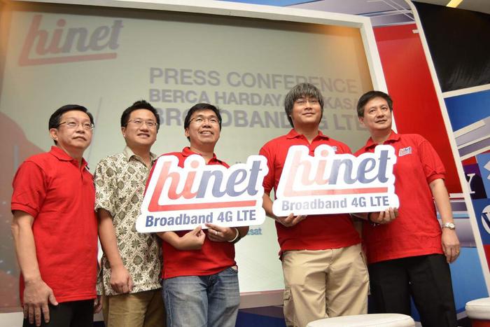 Photo of PT Berca Hardayaperkasa memperkenalkan produk 4G LTE Hinet