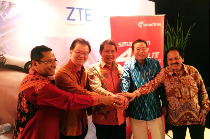 Photo of Smartfren 4G LTE-Advanced Pertama dan Terluas di Indonesia