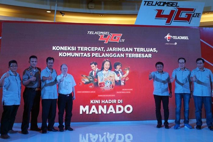 Photo of Telkomsel Hadirkan Layanan  4G LTE di Manado