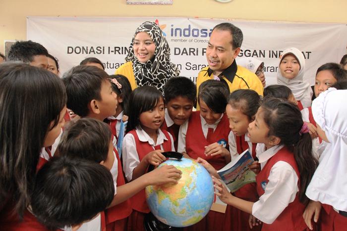 Photo of Hasil Donasi iRing Amal pelanggan INDOSAT Untuk Pendidikan