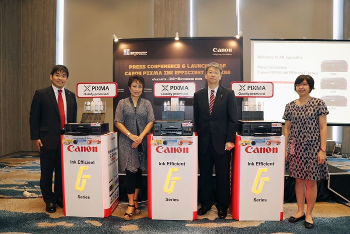 Photo of PIXMA Ink Efficient G-Series, Printer Generasi Baru dengan Sistem Tangki Botol
