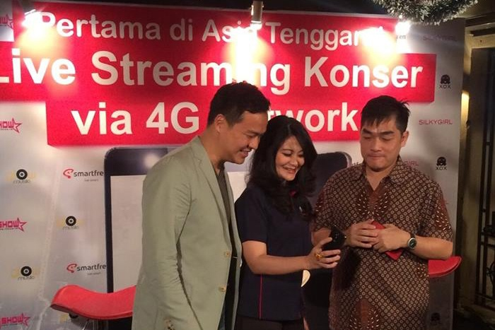 Photo of Smartfren dukung Live Streaming Konser Aliando via 4G di www.ishow.com