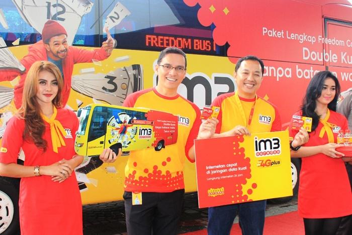 Photo of IM3 Ooredoo Hadirkan Freedom Bus gratis untuk masyarakat Jakarta