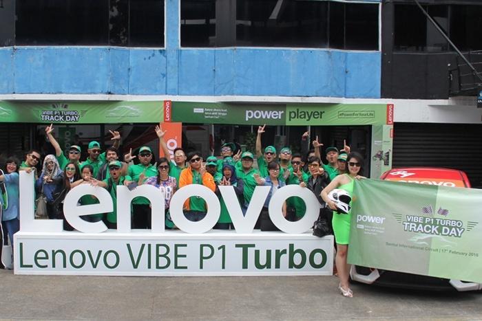 Photo of Lenovo Buktikan Ketahanan Baterai VIBE P1 Turbo di Ajang Turbo Track Day