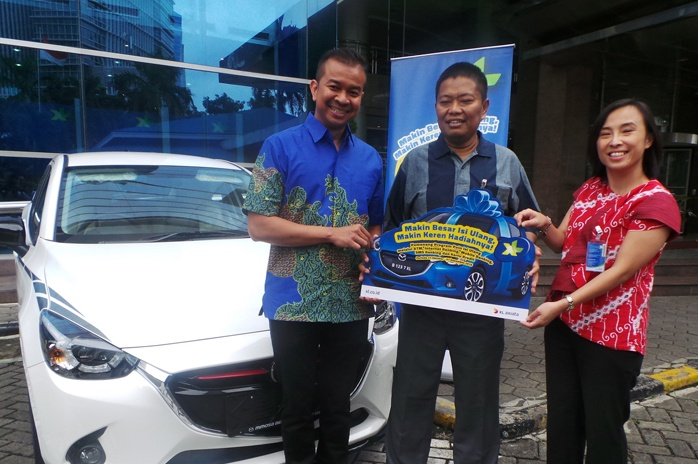 Photo of XL Serahkan Hadiah Utama Mobil Mazda di Program POINSIUL