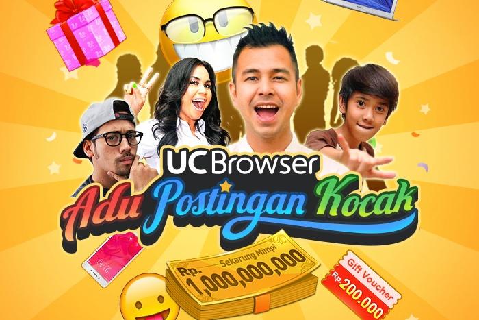 Photo of UC Browser Mengadakan Kontes Adu Postingan Kocak dengan hadiah total Rp.1 Miliar