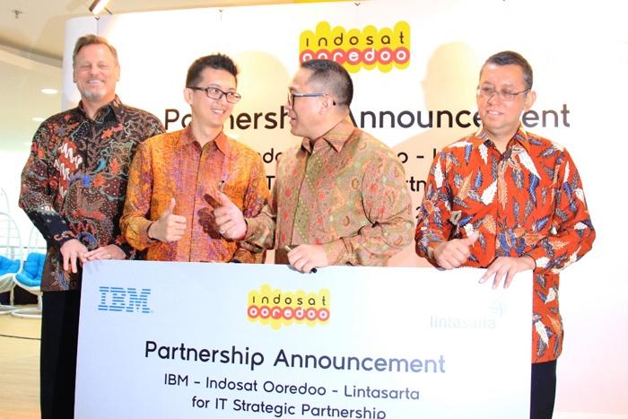 Photo of Kemitraan Strategis Indosat Ooredoo, Lintasarta dan IBM Hadirkan Solusi IT
