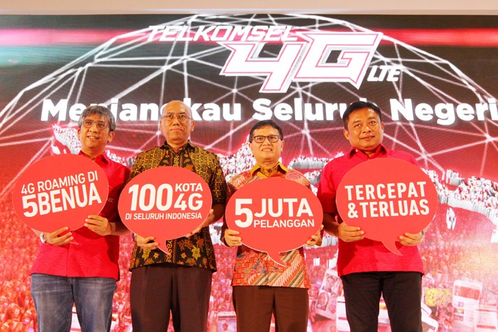 Photo of Telkomsel 4G Nation, Telkomsel 4G LTE Hadir Lebih Dari 100 Kota di Seluruh Negeri