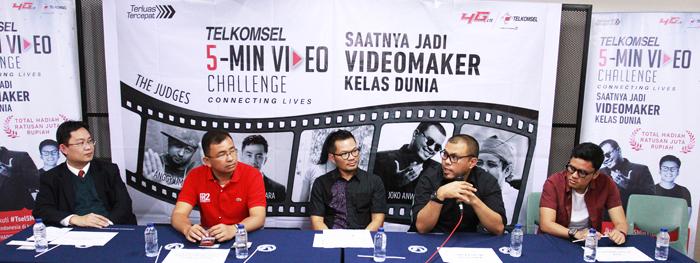 Photo of Kompetisi Telkomsel 5-Min Video Challenge' Mulai Bergulir