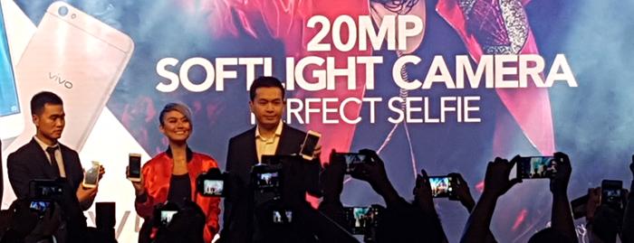 Photo of Vivo meluncurkan Vivo V5 dilengkapi kamera depan 20MP dengan fitur Softlight