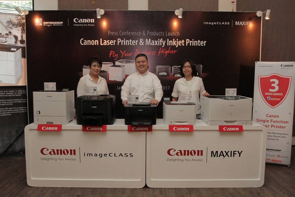 Photo of Canon Rilis 3 Rangkaian Printer MAXIFY Terbaru