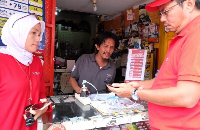 Photo of Telkomsel Gandeng Reseller Pulsa Buat Jualan Konten Digital