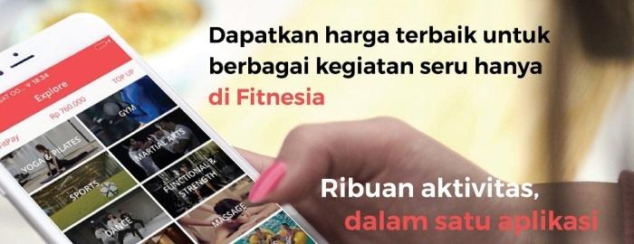 Photo of Fitness Lebih Mudah, Asyik dan Murah Karena Aplikasi Fitnesia