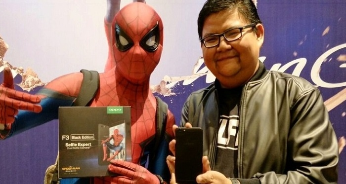 Photo of Asyik, OPPO Promosikan F3 Melalui Film Spider-Man: Homecoming