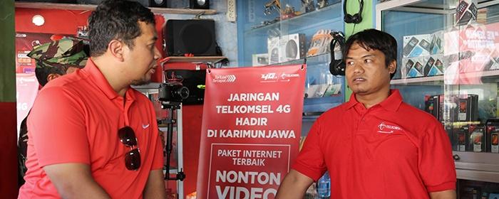 Photo of Telkomsel 4G LTE Hadir di Kepulauan Karimunjawa yang kecepatannya bisa mencapai 75 Mbps