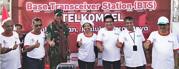 Photo of Layanan Telkomsel Hadir Memajukan Pulau Liran yang berbatasan dengan Timor Leste
