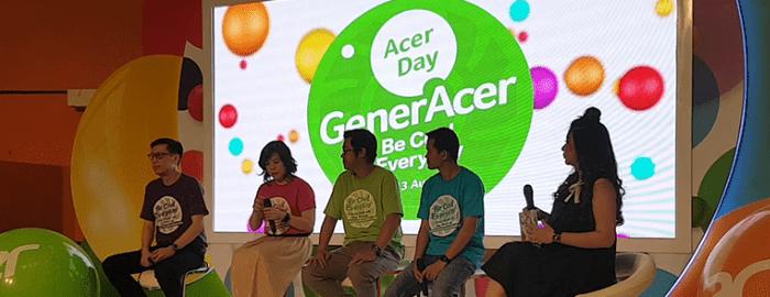 "Photo of Acer Gelar ""GenerAcer Day"" Pamerkan Jajaran Produk dan Inovasi yang Cool dan Kekinian"