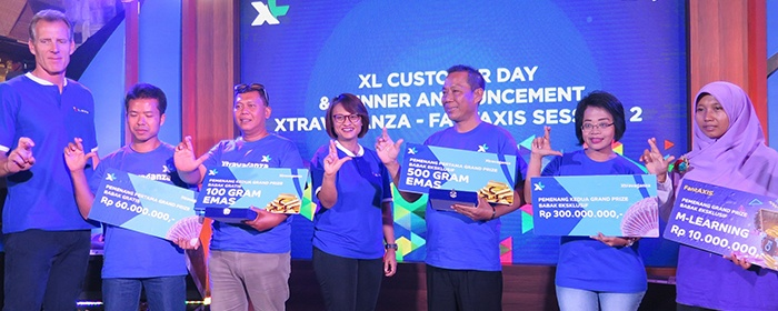Photo of Pada Hari Pelanggan 2017, XL Axiata Gelar Program Apresisasi Bagi Pelanggan