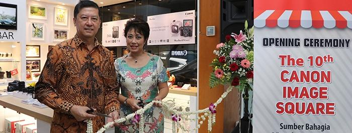 Photo of Tambah Gerai, Datascrip Resmikan Canon Image Square ke-10 di Surabaya
