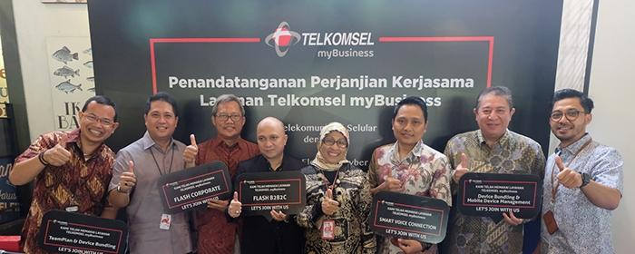 Photo of Telkomsel Gandeng Lima Perusahaan, Mendorong Layanan Gaya Hidup Digital Untuk Pelanggan Korporasi